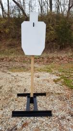 USPSA 2/3 Metric Target Plate